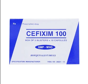 Cefixim 100 Tipharco 2X10