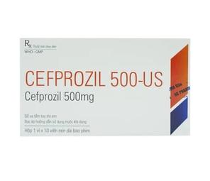 Cefprozil 500-Us Usp 1X10