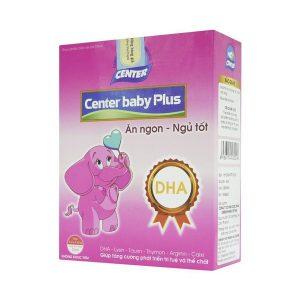 Center Baby Plus Ăn Ngon-Ngủ Tốt Ống 10Ml (Hộp 4 Vỉ x 5 Ống)