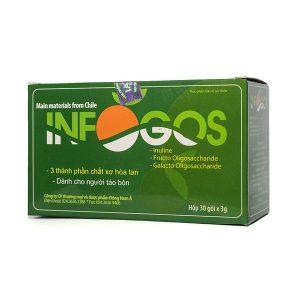Chất Xơ Infogos 30 Gói (Hộp)