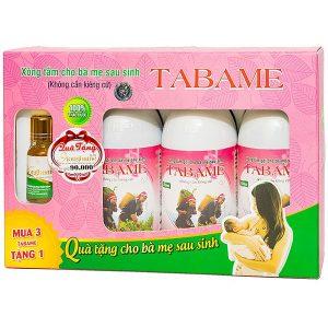 Combo Tabame Herbe 250ml x 3 chai - Nước Xông Tắm Gội Cho Bà Mẹ Sau Sinh