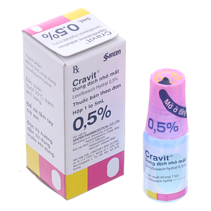 Cravit 1.5% Santen 5Ml