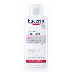 Dầu Gội Eucerin Dermo Capillaire Ph5 Mild Shampoo 250Ml (Chai)