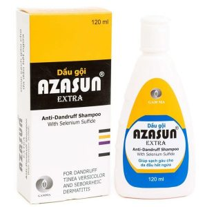 Dầu Gội Sạch Gàu Azasun Extra Anti Dandruff Shampoo 120Ml (Chai)