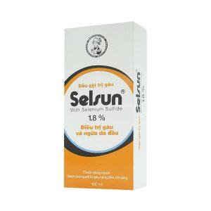 Dầu Gội Trị Gàu Selsun 1,8% 100Ml (Chai)