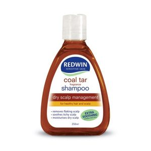 Dầu Gội Trị Gàu Và Giảm Nhờn Da Đầu Redwin Coal Tar Shampoo 250Ml (Chai)