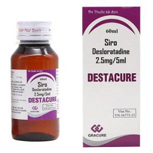 Destacure Siro 60ml Ấn Độ (Chai)
