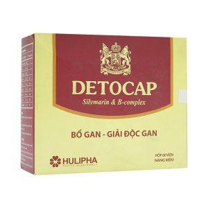 Detocap 60V Hulipha (Hộp)