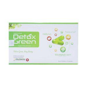 Detox Green - Thải Độc Xanh, Sống An Lành (Hộp 3 Vỉ x 10 Viên)