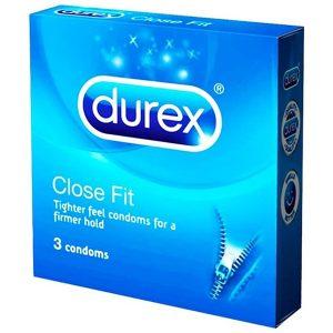 Durex Close Fit 3's (hộp)