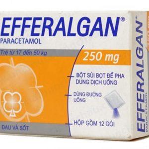Efferalgan 250 Paracetamol (hộp 12 gói) Bristol