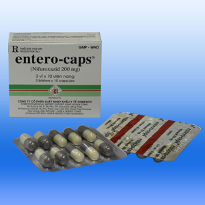 Entero Caps 200mg Domesco (hộp)