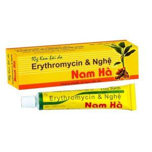 Erythromycin Nghệ (tube 10g) Nam Hà
