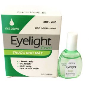 Eyelight Cool (chai) 10ml Hậu Giang (Xanh)