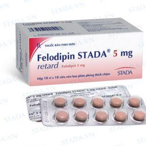 Felodipin (5 hộp 100v) Stada