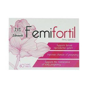 Femifortil Zdrovit 4X15 (Hộp 4 Vỉ x 15 Viên)