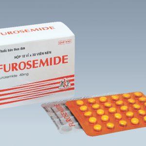 Furosemid 40mg (Viên) MKP