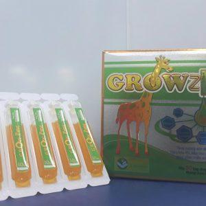 GROWZINC (Hộp 20 Ống)