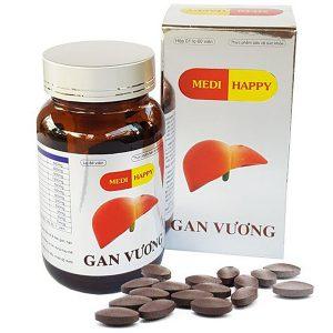 Gan Vương Medi Happy Lọ 60V (Hộp)