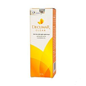 Gel Rửa Mặt Ngăn Ngừa Mụn Decumar Clean 50G (Hộp)