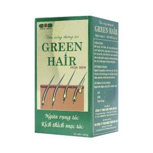 Green Hair - Viên Uống Dưỡng Tóc, Ngăn Rụng Tóc (Hộp)