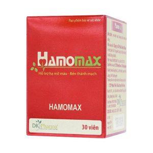 Hamomax - Giúp Hạ Mỡ Máu - Bền Thành Mạch (Hộp)