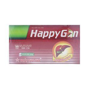 Happy Gan - Viên Uống Giải Độc Gan (Hộp 5 Vỉ x 6 Viên)