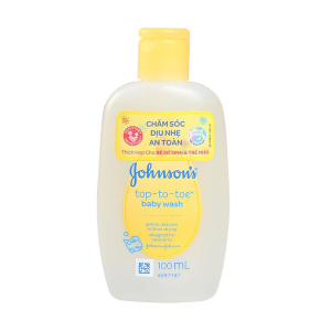 Johnson's Baby Top-To-Toe Baby Wash (chai) 100ml