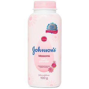 Johnson's Bb Powder Blossoms (chai) 100G