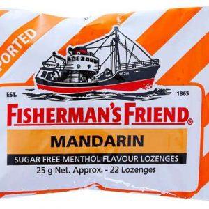 Kẹo con tàu Mandarin ngậm không đường (gói 22v)