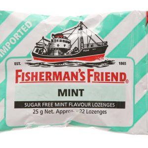 Kẹo con tàu Mint ngậm không đường (gói 22v)