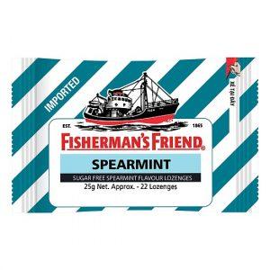 Kẹo con tàu Spearmint ngậm không đường (gói 22v)