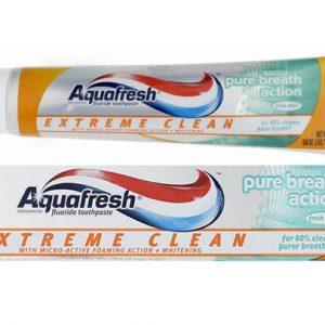 Kem đánh răng Aquafresh Mỹ (tuýp)