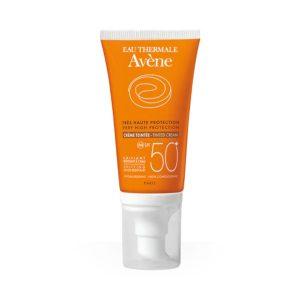 Kem Chống Nắng Có Màu Eau Thermale Avène Very High Protection Tinted Cream Spf 50+ 50Ml (Tuýp)