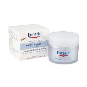 Kem Dưỡng Ẩm Cho Da Thường Và Da Hỗn Hợp Eucerin Aquaporin Active 50Ml (Hộp)