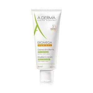 Kem Dưỡng Ẩm Giảm Ngứa A-Derma Exomega Control Emollient Cream 200Ml (Hộp)