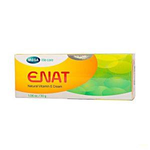 Kem Dưỡng Ẩm, Làm Mờ Vết Nhăn Enat Natural Vitamin E Cream 30G (Tuýp)