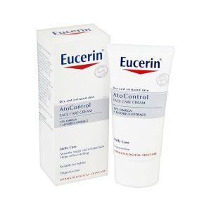 Kem Dưỡng Da Mặt Khô, Dễ Kích Ứng Eucerin Atocontrol Face Care Cream 50Ml (Hộp)