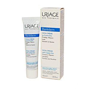 Kem Dưỡng Giúp Làm Dịu Và Mềm Da Uriage Bariéderm Cica-Cream 40Ml (Hộp)