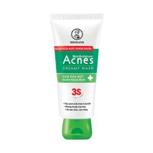 Kem Rửa Mặt Ngăn Ngừa Mụn Rohto Acnes Creamy Wash 50G (Tuýp)