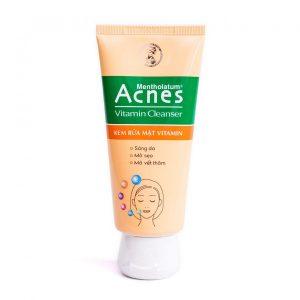 Kem Rửa Mặt Vitamin Acnes Vitamin Cleanser 100G (Tuýp)