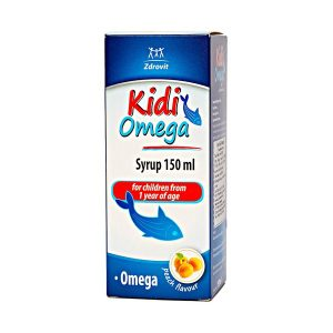 Kidi Omega Syrup 150Ml For Children (1 Year Of Age)1