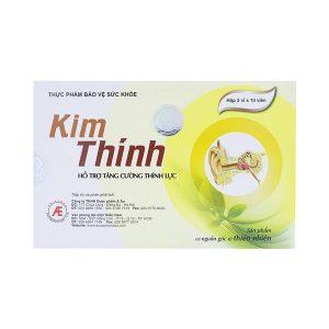Kim Thính 3X10 (Hộp 3 Vỉ x 10 Viên)