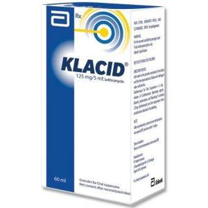 Klacid Siro 60ml Mỹ (chai)