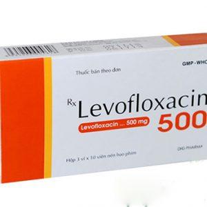 Levodhg Levofloxacin 500mg Hậu Giang