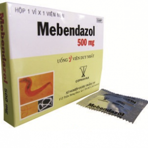 MEBENDAZOL (Hộp 1 Viên)