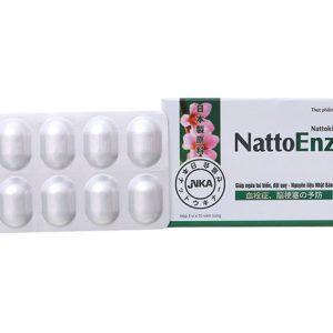 Natto Enzym hộp 30v Hậu Giang (Hộp 3 vỉ x 10 viên)
