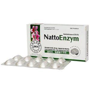 Nattoenzym - Phòng Ngừa Tai Biến Mạch Máu Não (Hộp 3 Vỉ x 10 Viên)