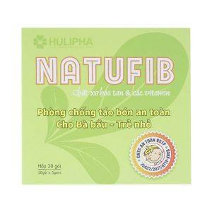 Natufib - Giải Trừ Táo Bón Cho Bà Bầu Và Trẻ Nhỏ (Hộp)