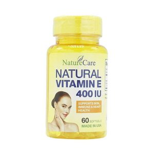 Natural Vitamin E 400Iu Naturecare 60V (Hộp)